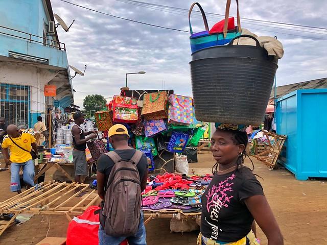 Sao Tomé, la capital de Santo Tomé y Príncipe