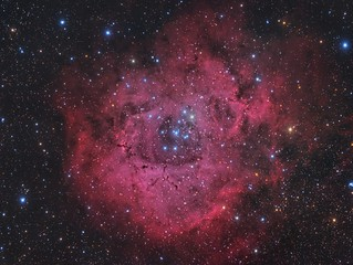 Rosetta Nebula and NGC 2244 | by Ginge70