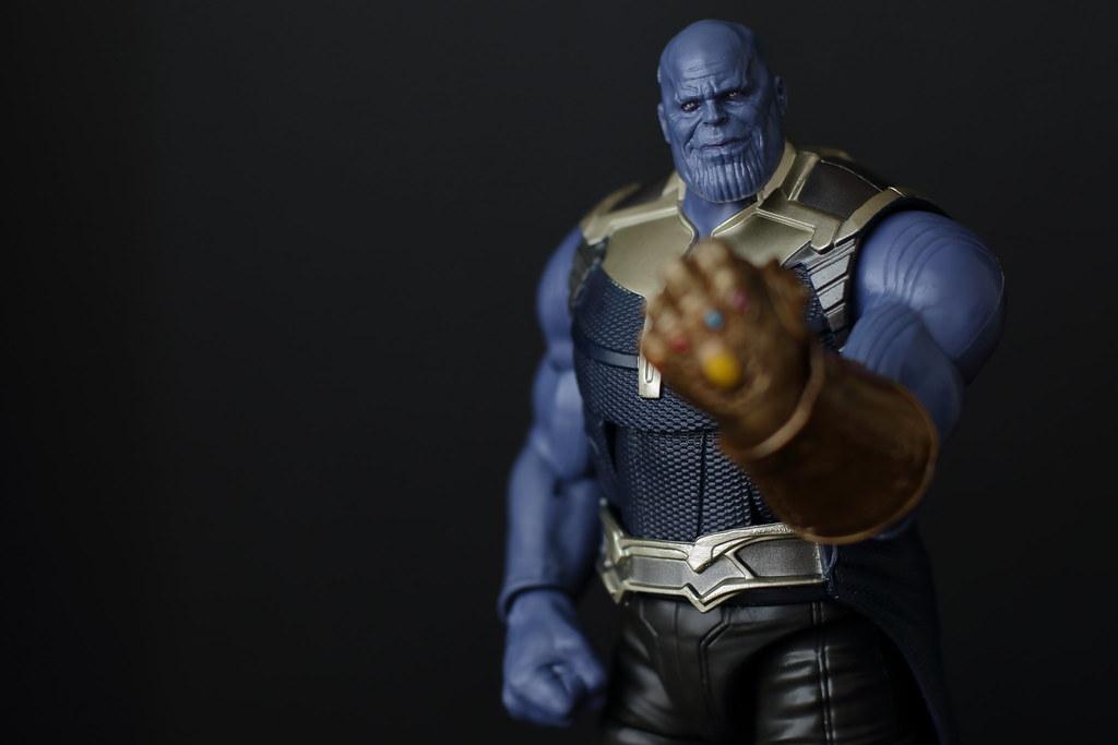 Thanos Marvel Legends Thanos Baf Avengers Infinity War Hannaford Flickr
