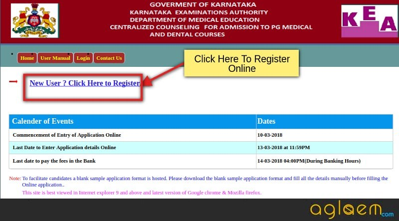 KEA Karnataka PG Medical Admission 2018 (2nd round Counselling)   Application, Merit List, Seat Allotment