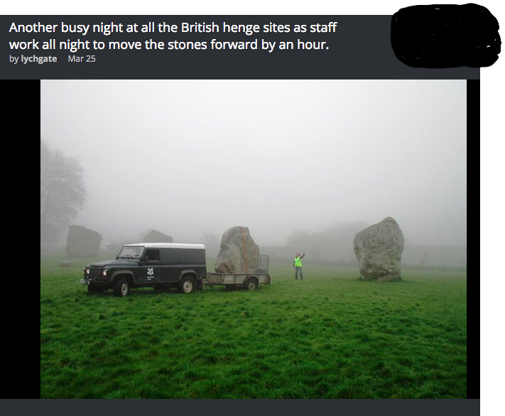 cartoons science moving the hedge stones an hour forward flickr