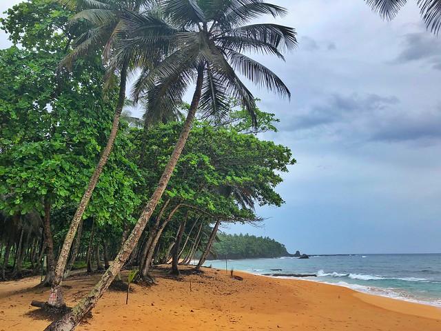 Praia Jalé (Sur de Santo Tomé y Príncipe)