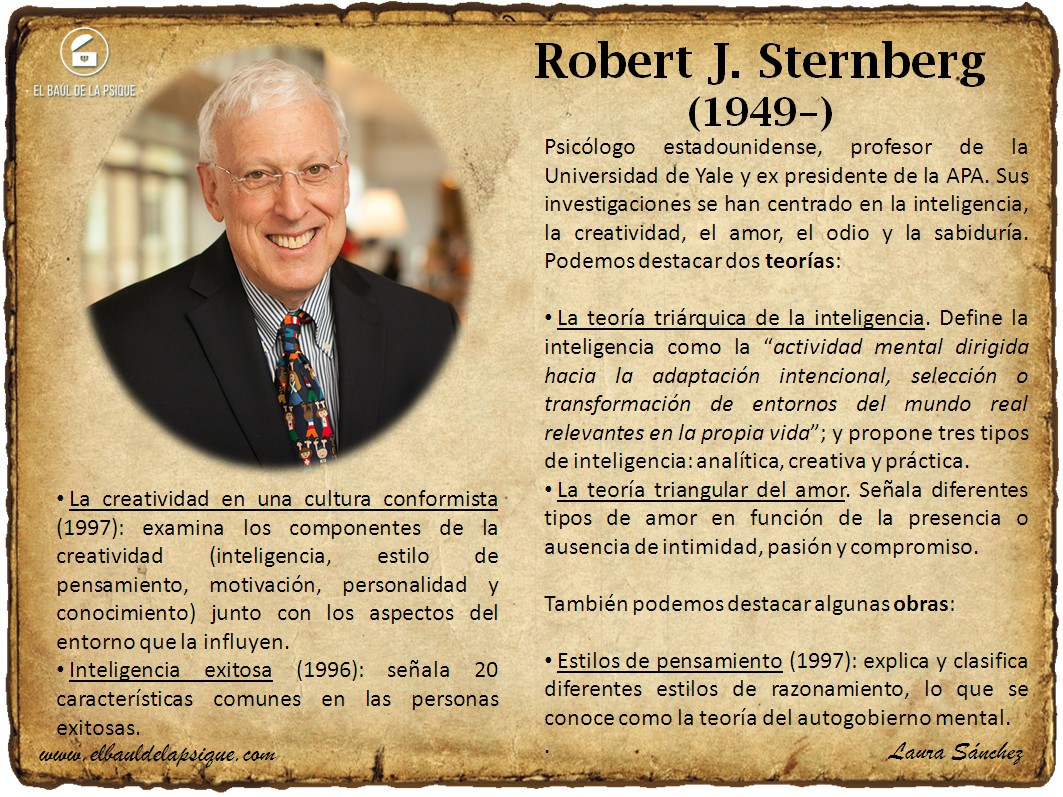 El Baúl de los Autores: Robert J. Sternberg