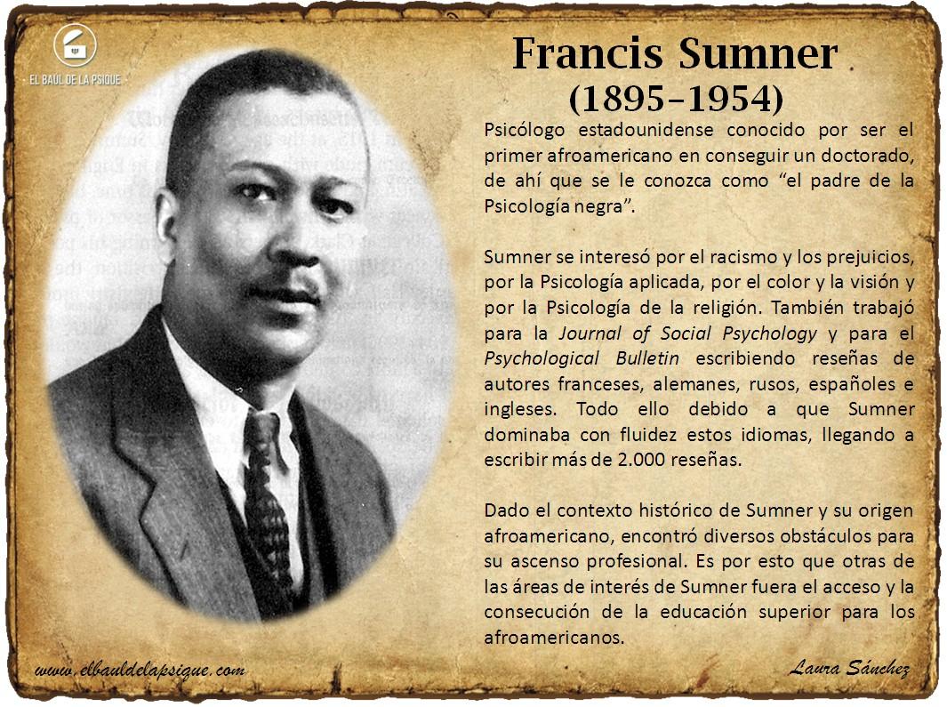 El Baúl de los Autores: Francis Sumner