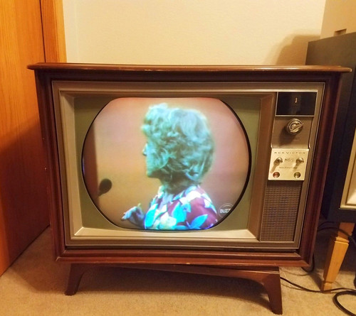I've got a friend whose aging parents still have their 1966 RCA Victor New Vista Color TV and it works!  They've owned it since brand new for 52 years. These days, the TV is hooked up to cable. Milford Connecticut. Sept 2017 | by wavz13