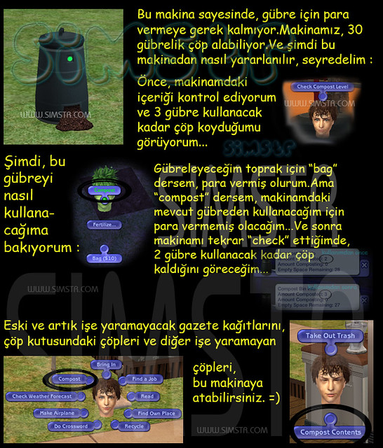 The Sims 2 Seasons Compost Plant Bag