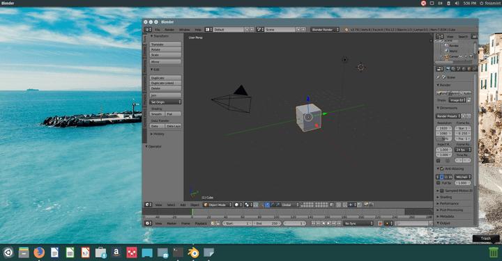 Blender-3D-Creation-Tool-for-Linux