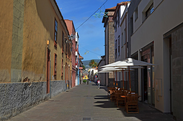 Typical street, La Laguna, Tenerife