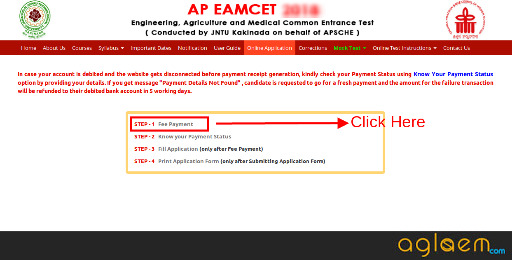 AP EAMCET 2020 Application Form