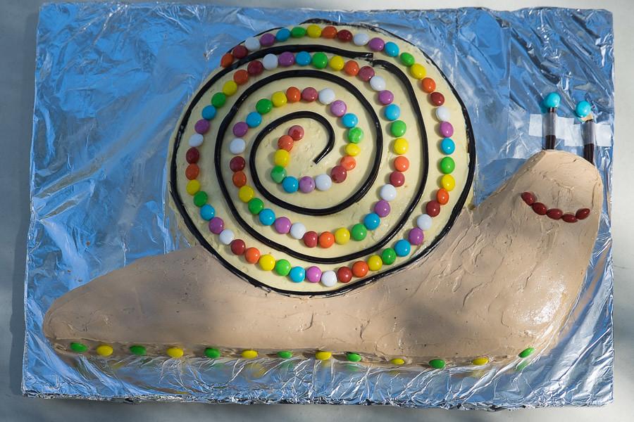 Snail Birthday Cake The Food Pornographer Flickr