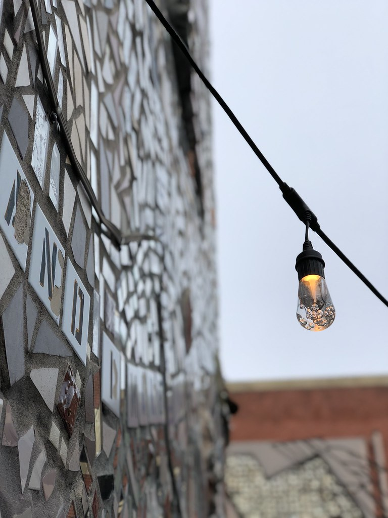Philadelphia's Magic Gardens lightbulb