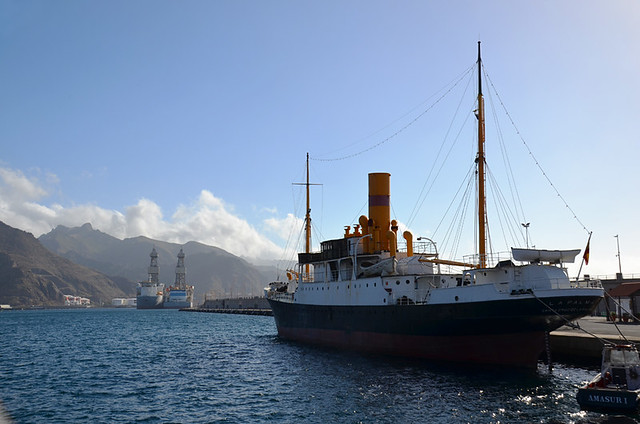 Historic ship, Santa Cruz, Tenerife