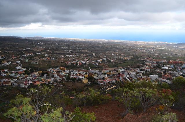 View from Plaza de Santa Lucia, Granadilla de Abona, Tenerife