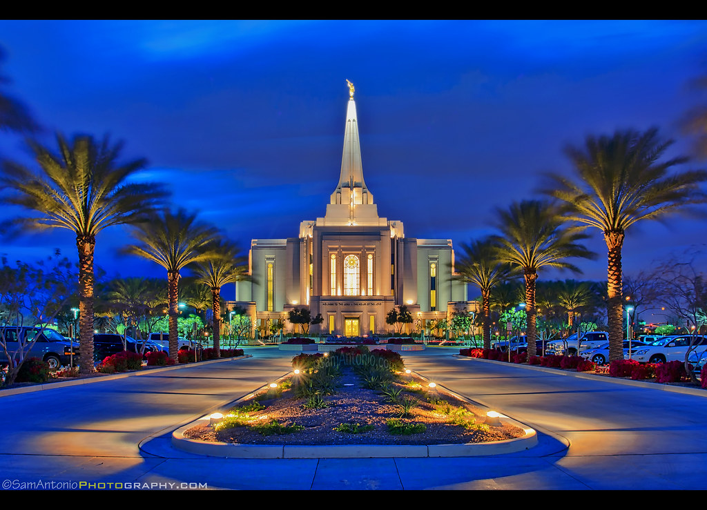 The Latter Day Saints Gilbert Arizona Temple
