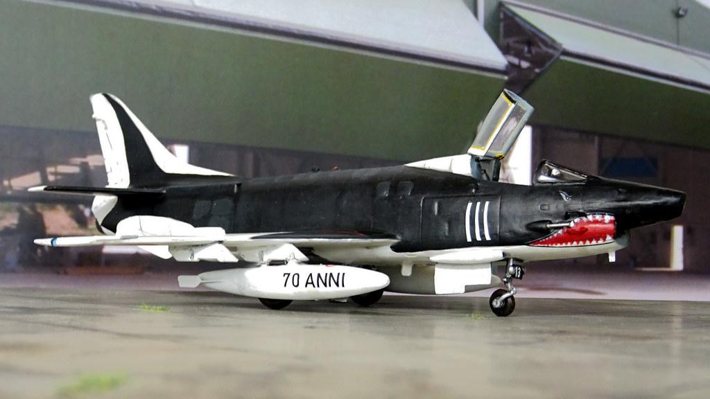 172 Aeritalia G91Y aircraft 32 13MM 6494