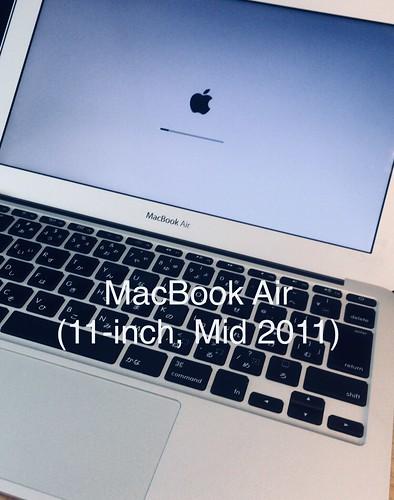 MacBook Air 11-inch 2011