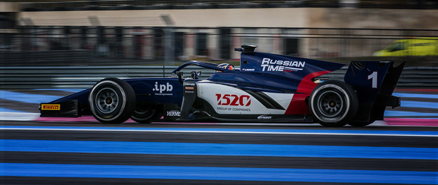 KENNOL and FIA F2 World Champions Russian Time partner for 2018 season.