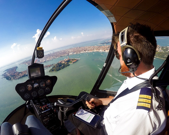 Vuelo en helicóptero por Venecia