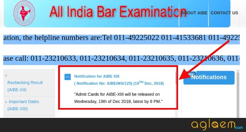 AIBE 2019 Admit Card Releasing Today at 6 PM; Here are 5 important points you should know