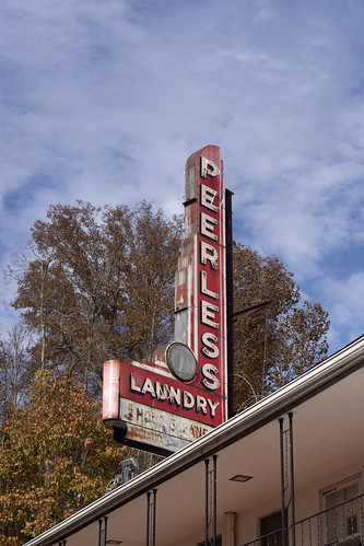 Peerless Laundry, Mullens, WV | by Dean Jeffrey