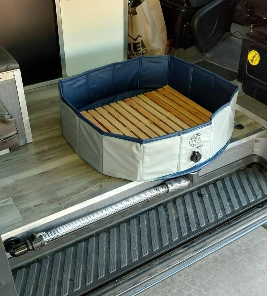 Portable Shower Basin For Inside Camper Van Sprinter Forum