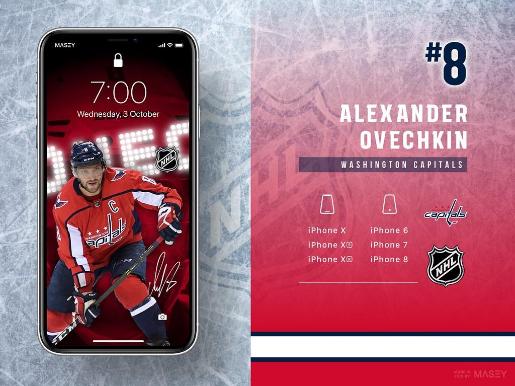 Alexander Ovechkin (Washington Capitals) iPhone Wallpaper
