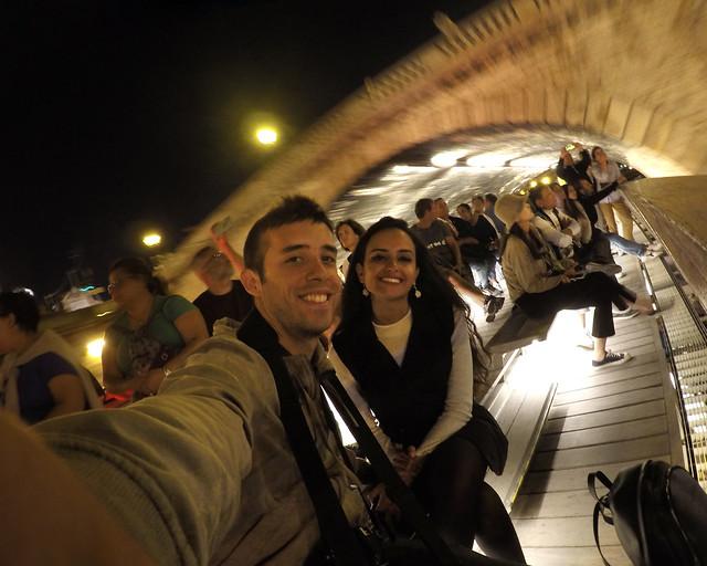 Excursión en barco por el Sena