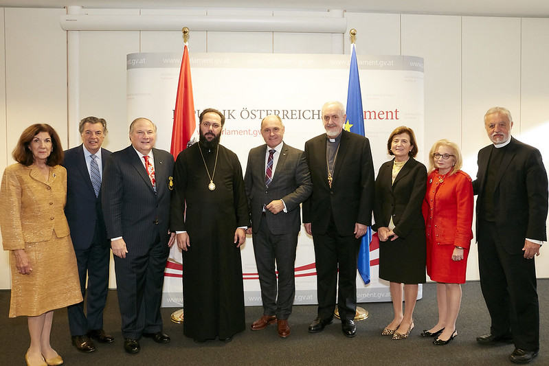 f5330391baac Archon delegation meets with First President of the Austrian Parliament