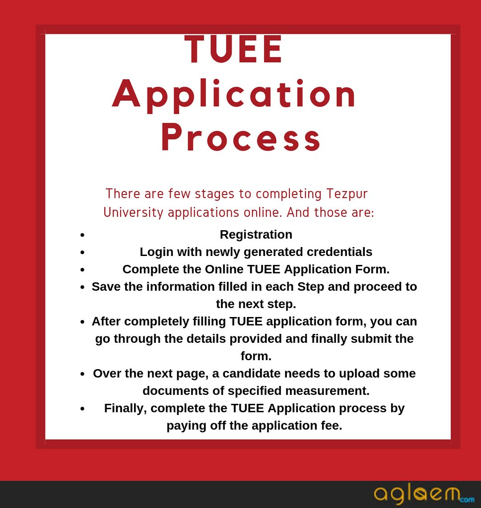 tuee 2019 application process