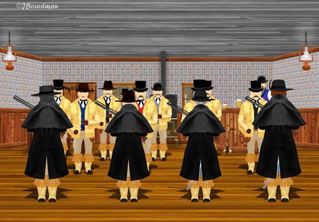 Inside the Flyspeck Saloon ©J. Boardman