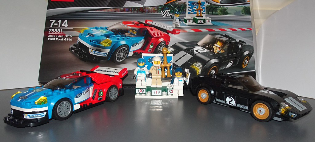 Lego Speed Champions Ford Gt And Ford Gt By Orbitalgoat