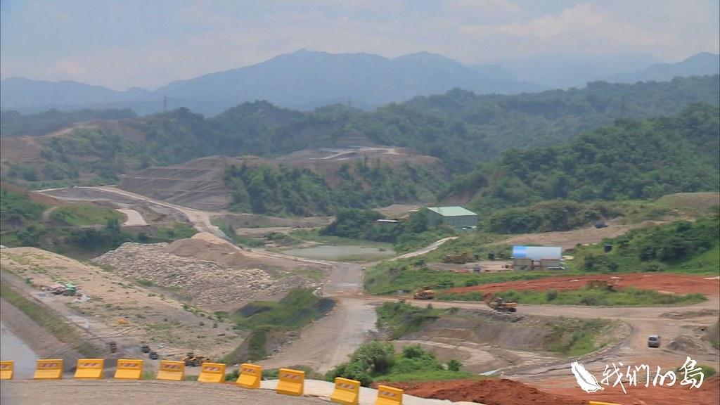 隨著湖山水庫動工,森林陸續被挖除。