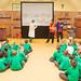 Air quality play at Farnham school