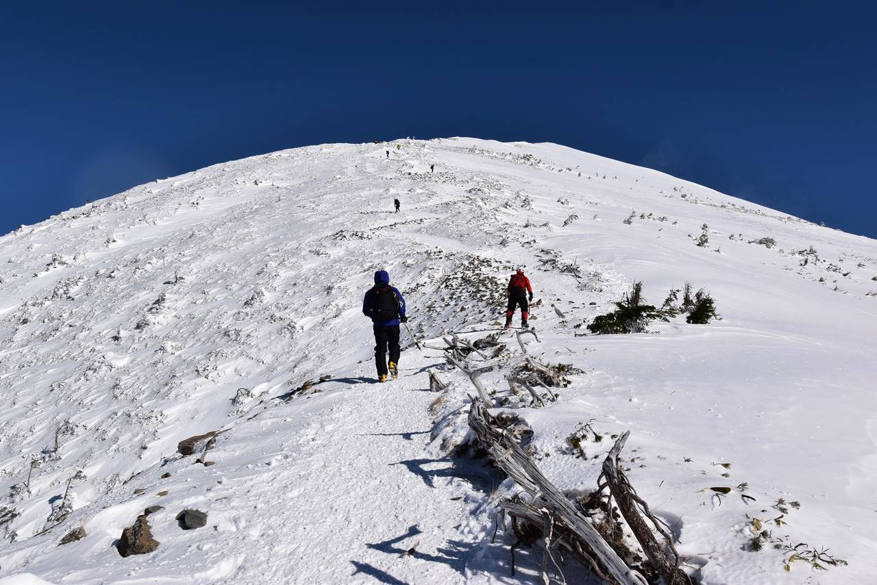 西穂高岳登山道