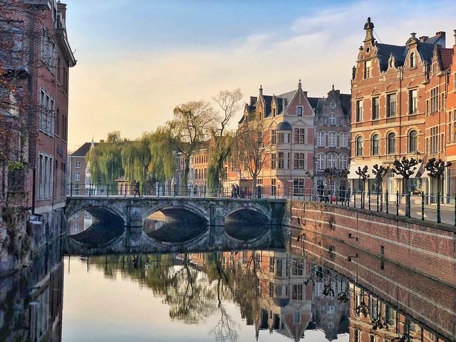Reflejos de Lier en Flandes