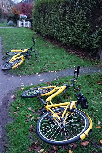 Thu 6 Dec 18: pls@ofo_bicyclesuk sort out your system. We see... | by JDavid Jenkins