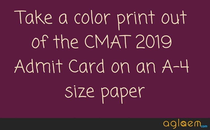 CMAT 2019 Admit Card Expected to be Available by Evening, Today