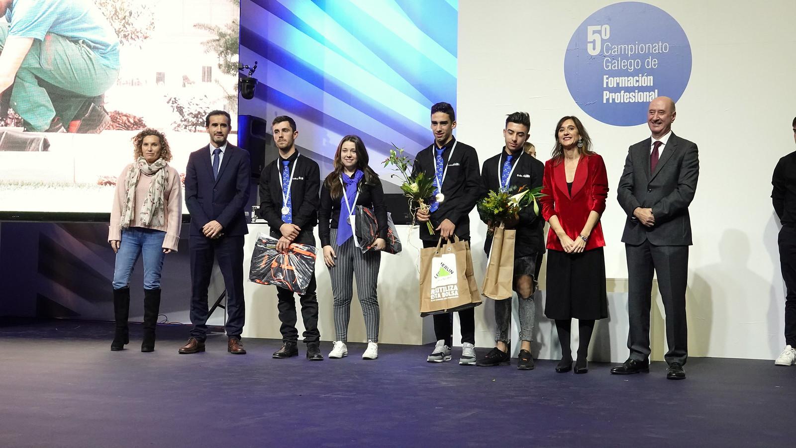 Entrega de premios del Galicia Skills 2018 esta mañana en la Feira Internacional de Galicia ABANCA
