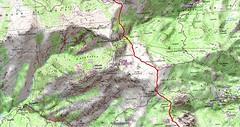 Carte Monte Corvo - Bocca di a Serra au Cap Corse