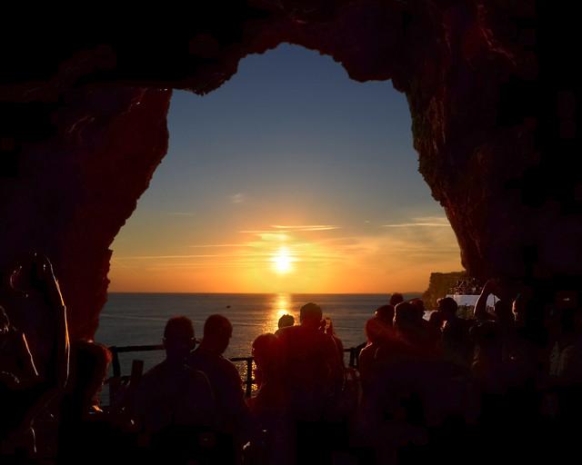 Cova de Xoroi en Menorca