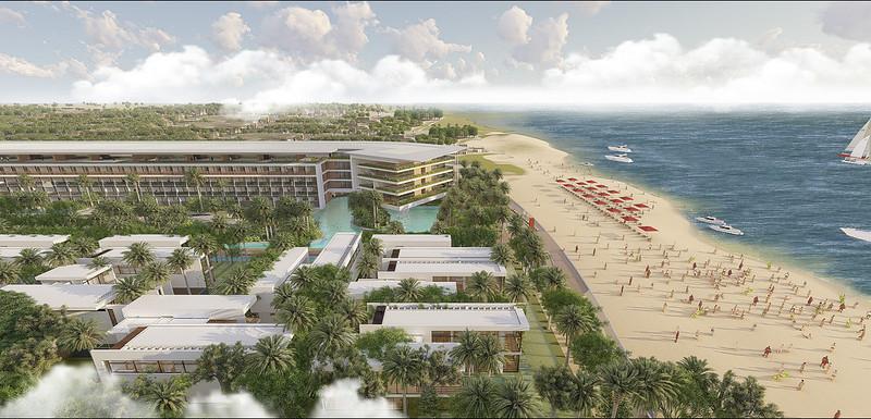 Malibu Hội An là khu compound căn hộ và biệt thự ven biển