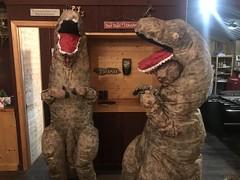 Hirschasaurus Rex and Kateasaurus Rex