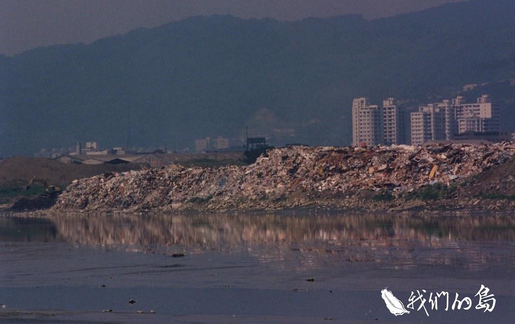 1992年新北市新莊區瓊林里垃圾場。