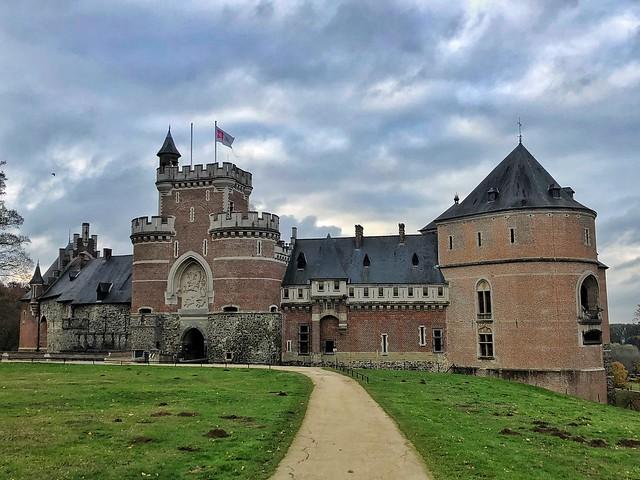 Castillo de Gaasbeek (Flandes, Bélgica)