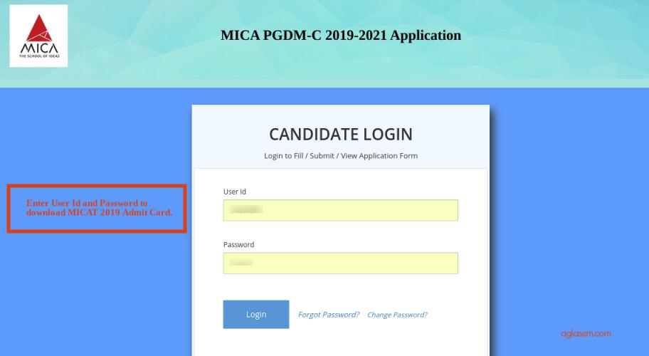 MICAT 2019 Admit Card Download