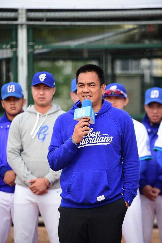 陳金鋒將出任明星白隊總教練。(主辦單位提供)