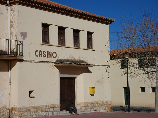 Antiguo casino de Ojos Negros (Territorio Jiloca Gallocanta)