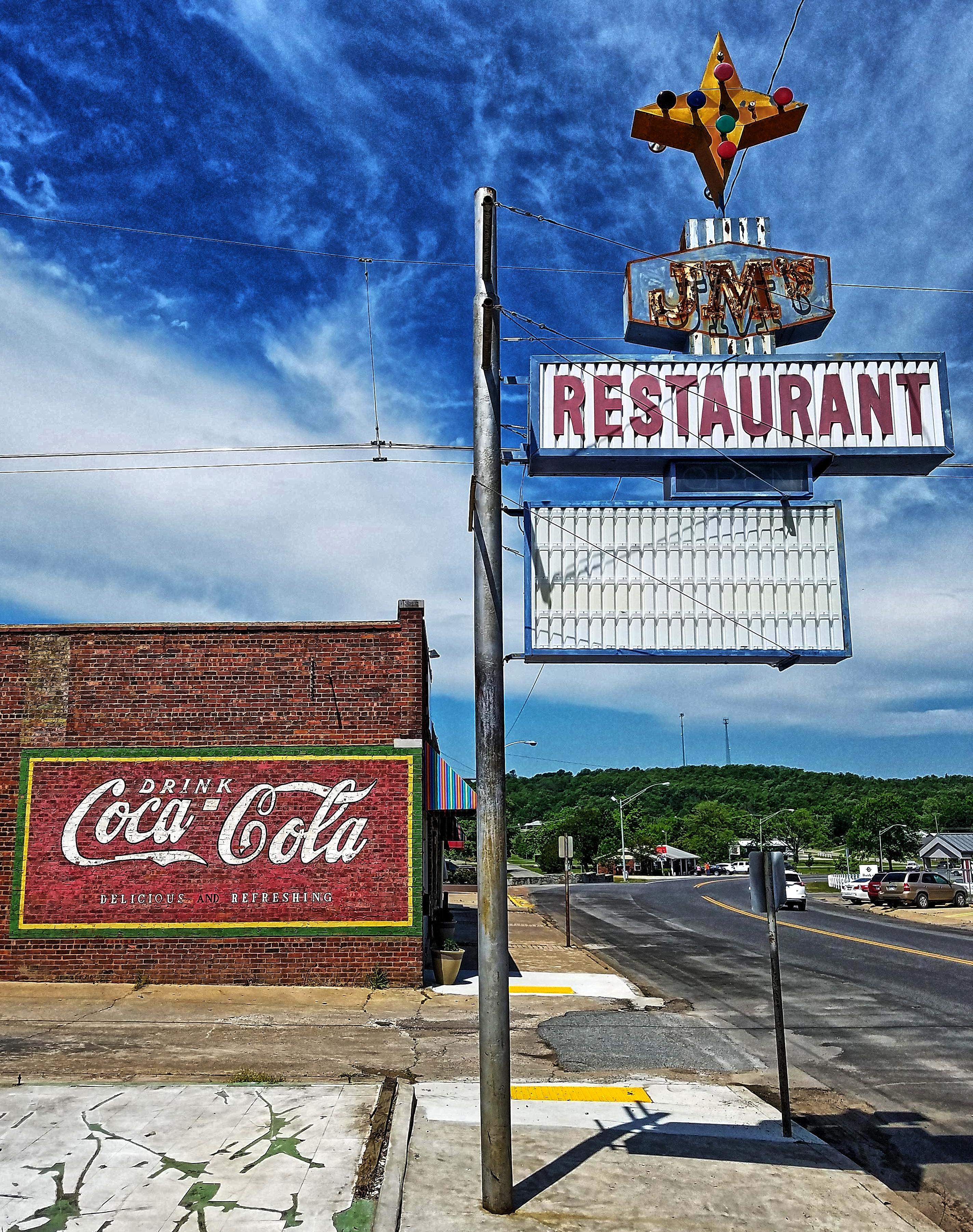 JM's Restaurant - Eufaula, Oklahoma U.S.A. - May 15, 2017