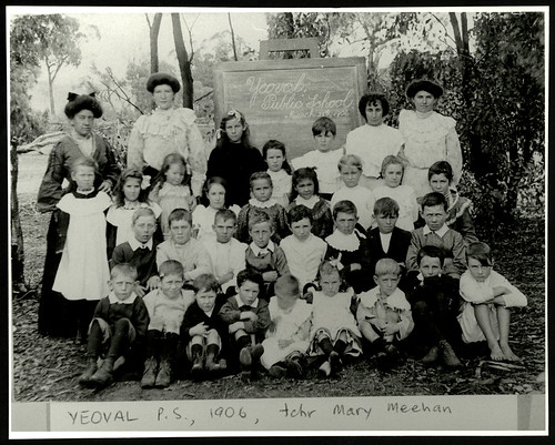 Yeoval Public School - teacher Mary Meehan | by NSW State Archives and Records