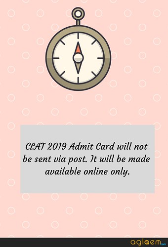 CLAT 2019 Admit Card